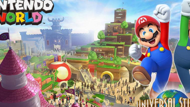 Confira primeira arte da área da Nintendo nos parques da Universal