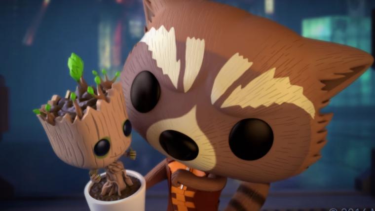 Marvel lança curta animado com Rocket Raccoon e Baby Groot