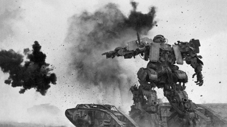 Transformers: O Último Cavaleiro   Novas imagens mostram os robôs em fotos de guerras antigas
