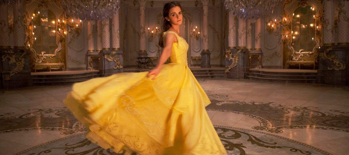 A Bela e a Fera   Ouça Emma Watson cantar um trecho de