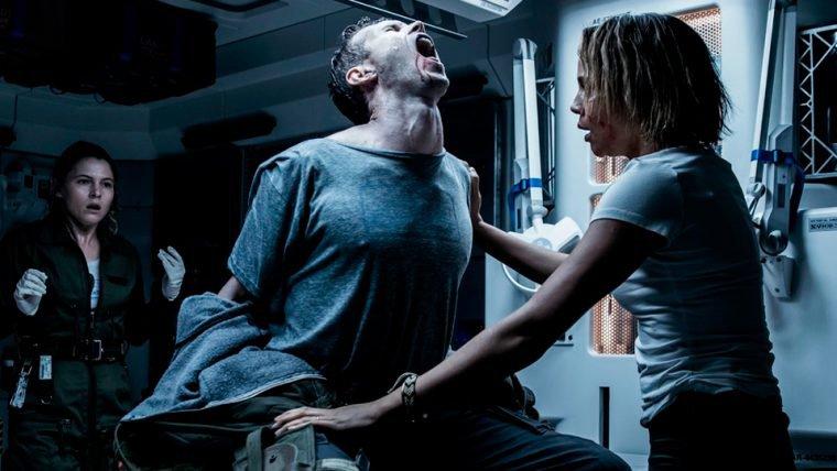 O medo toma conta nas novas imagens de Alien: Covenant