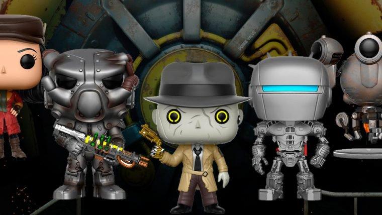 Fallout 4 ganhará novos bonequinhos Funko POP!