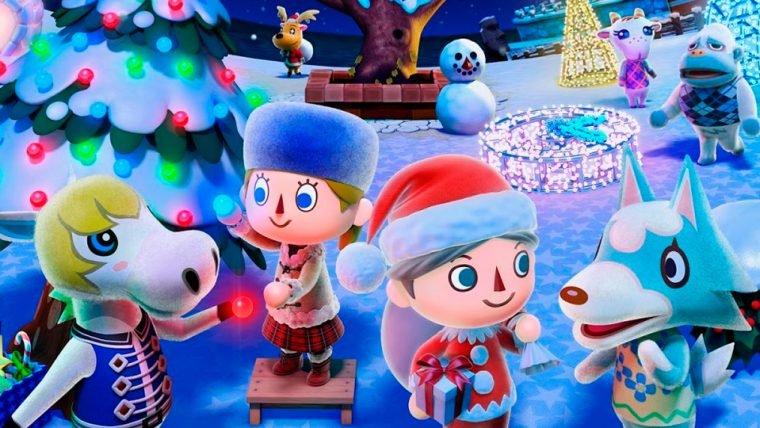 Cinco jogos com o clima de natal