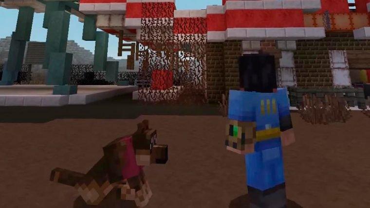 Minecraft ganhará DLC baseada em Fallout