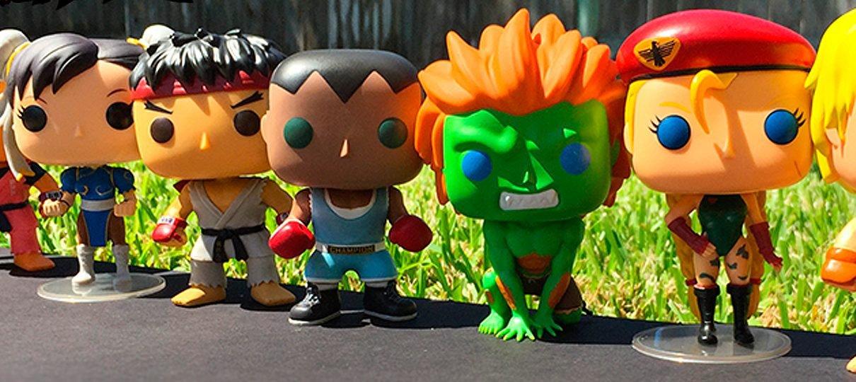 Street Fighter ganha novas figuras da linha Funko POP!