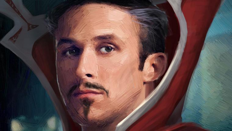 Doutor Estranho   Ryan Gosling quase viveu o mago supremo; confira as artes