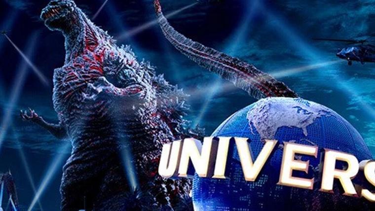 Universal Studios Japão lança trailer da atração do Godzilla
