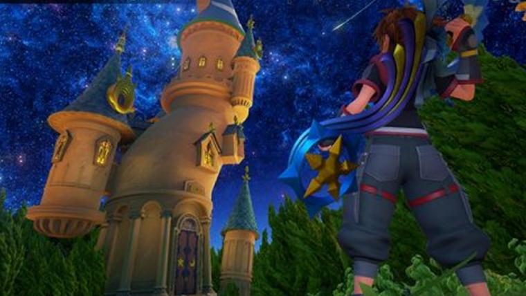 Kingdom Hearts III homenageia Final Finatasy VII em nova imagem