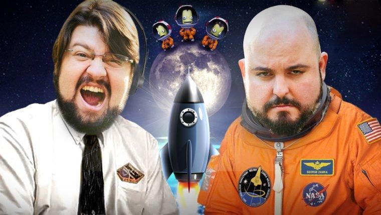 Kerbal Space Program - Operação: Ou vai ou racha - Parte 1