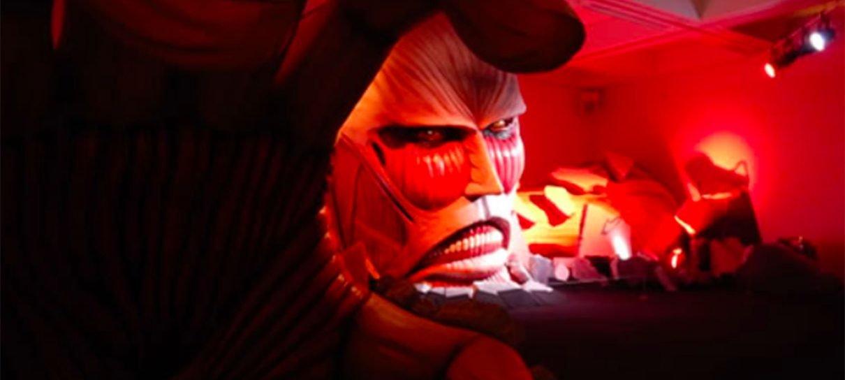 Attack on Titan | Spa japonês terá estátua gigante de titã como decoração