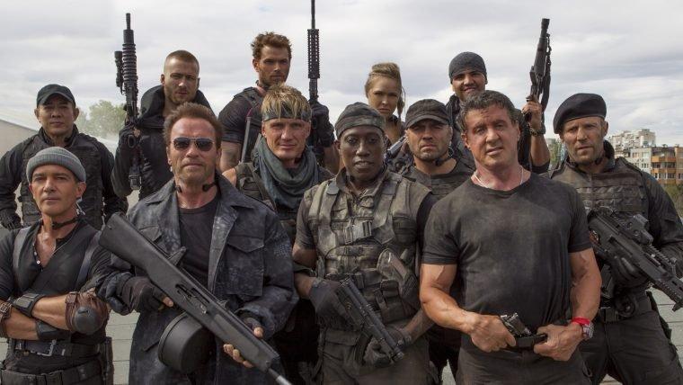 Filmagens de Os Mercenários 4 devem começar em agosto