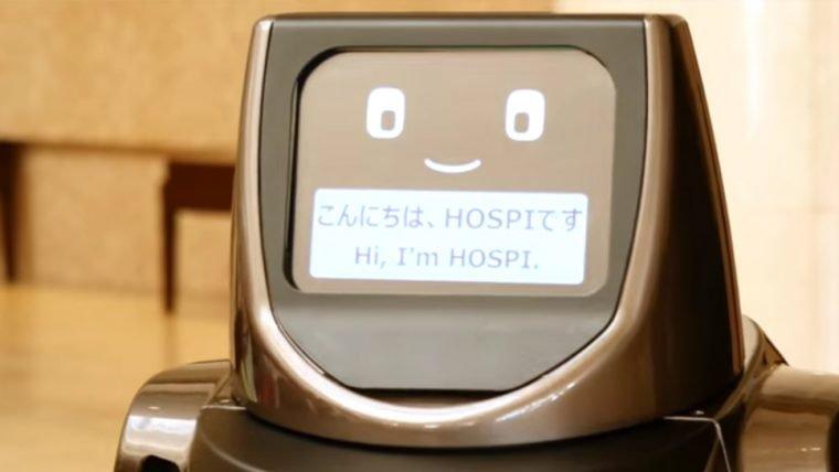 Conheça o HOSPI(R), o robô garçom