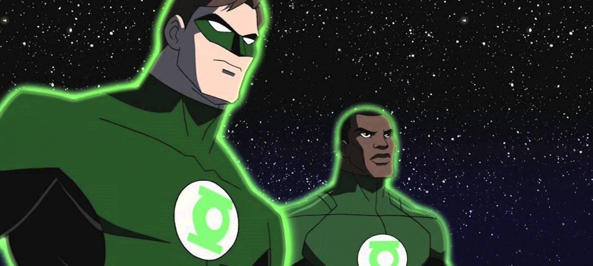 Tropa dos Lanternas Verdes   Hal Jordan e John Stewart serão os protagonistas do filme