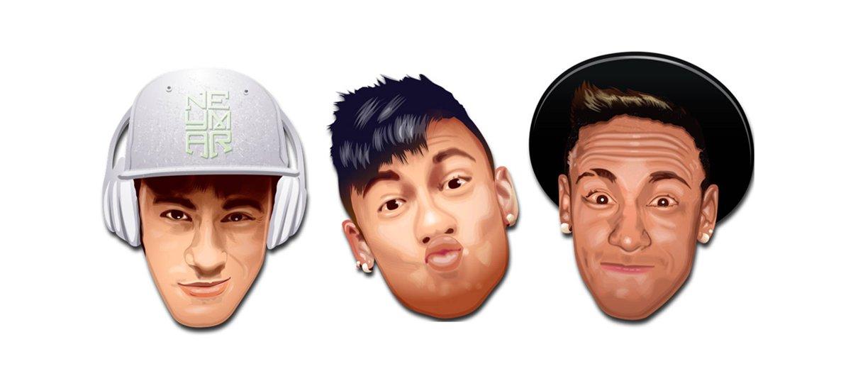 Conheça o Neymoji, o pacote de emojis do Neymar