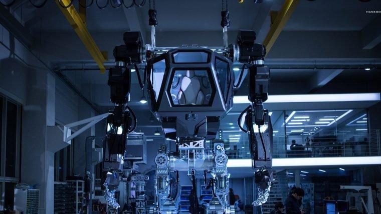 Veja um vídeo do robô gigante sul-coreano pilotado por humanos