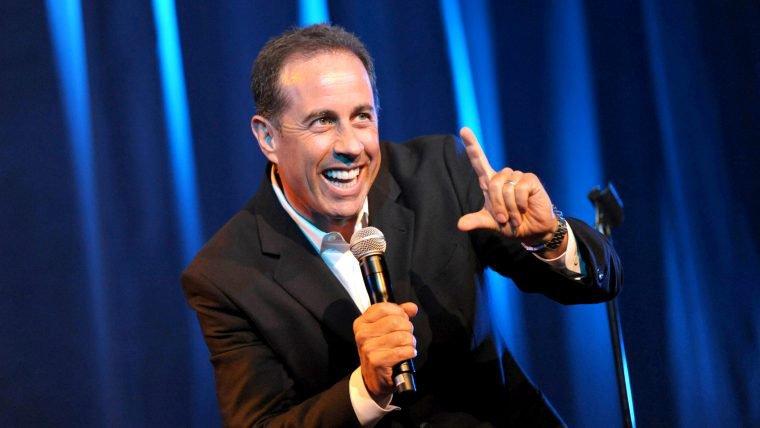 Jerry Seinfeld vai produzir dois especiais de comédia para a Netflix