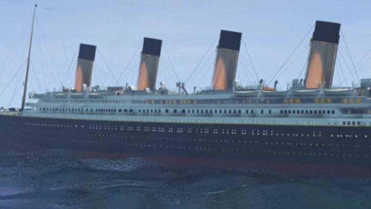 Titanic é recriado em GTA V