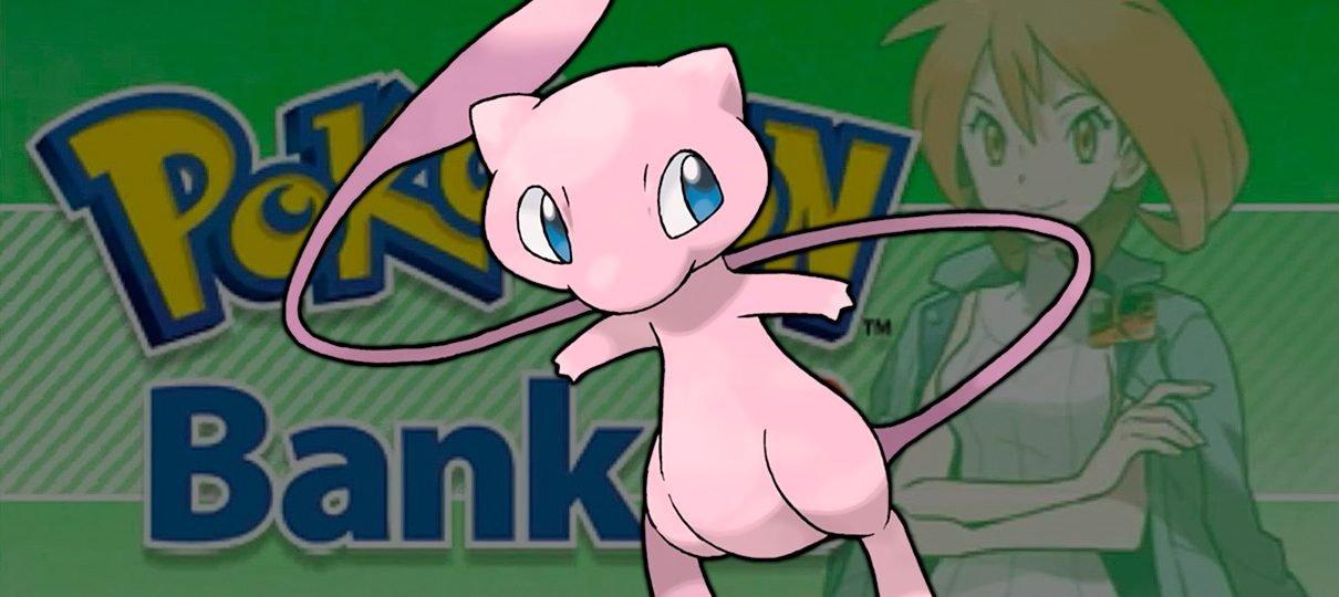 Pokémon Bank é atualizado e agora pode transferir monstros para Sun e Moon