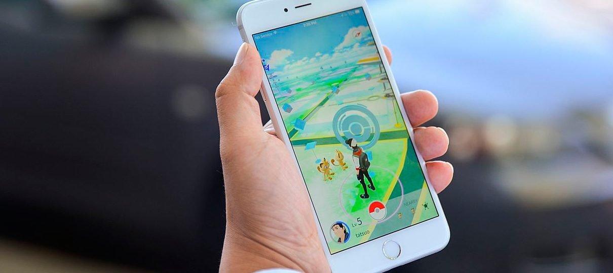 Pokémon GO foi o jogo mobile mais baixado no mundo em 2016