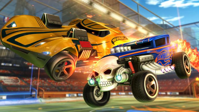 Rocket League anuncia DLC com carrinhos da Hot Wheels