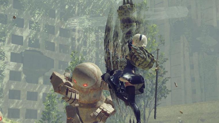 NieR: Automata termina seu desenvolvimento e entra na fase ouro