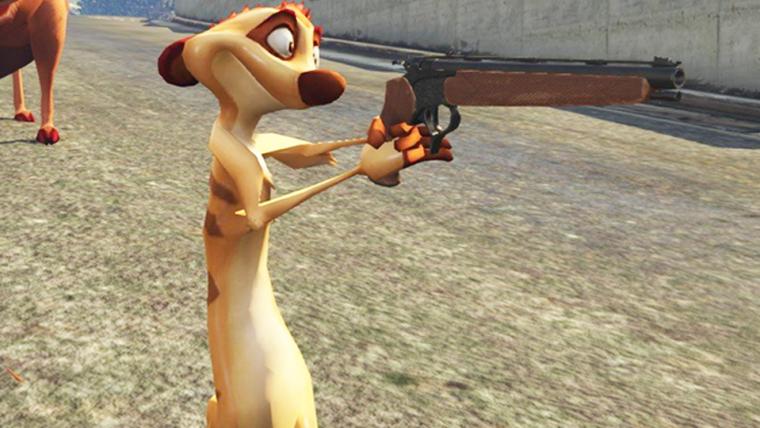 GTA V | Mod traz animais de O Rei Leão para Los Santos