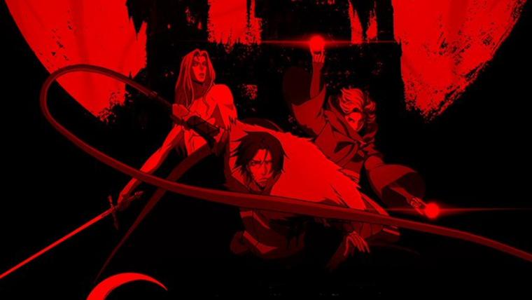 Lua está sangrenta em novo cartaz de segunda temporada Castlevania