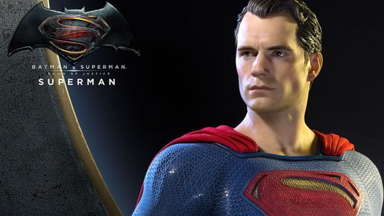 Superman | Colecionável em escala 1/2 não cabe em qualquer carteira