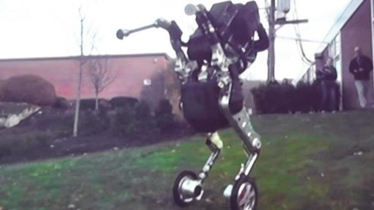 Novo robô vai te deixar com medo da revolta das máquinas
