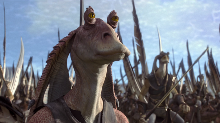Star Wars   Livro revela o destino de Jar Jar Binks