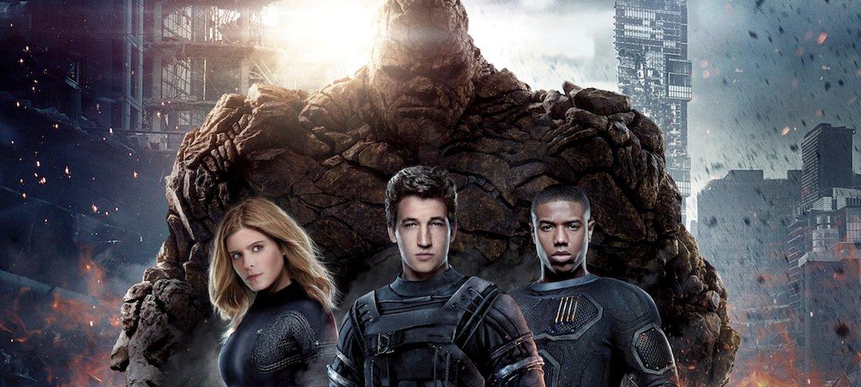 Quarteto Fantástico   Fox ainda quer fazer um filme da equipe