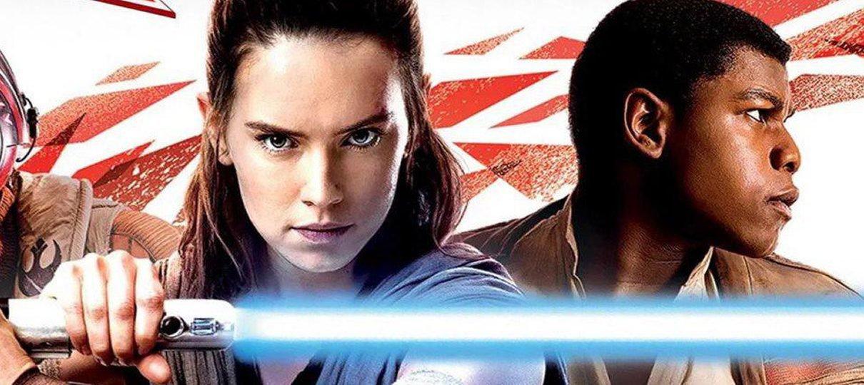 Star Wars: The Last Jedi | Rey aparece empunhando sabre de luz em produto oficial