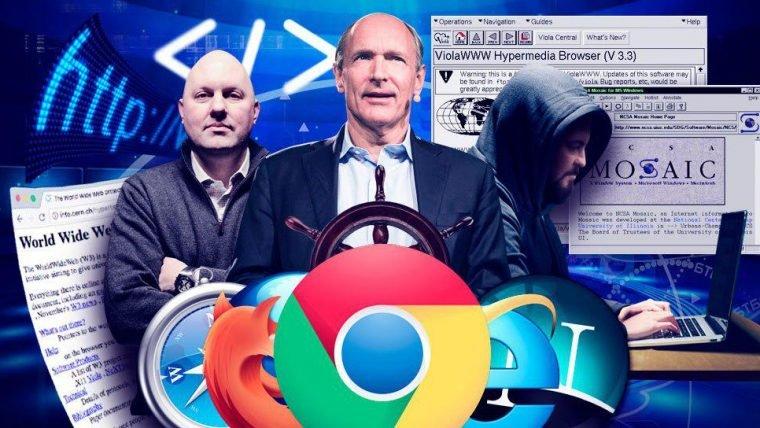 Os navegadores da internet