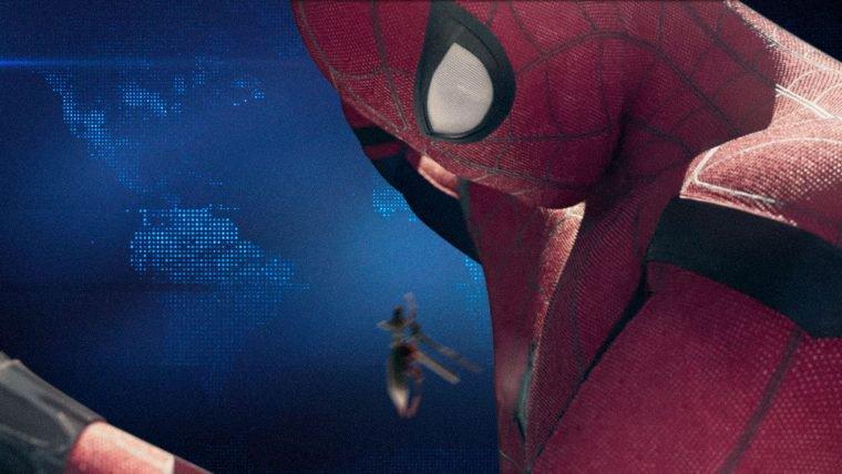 Homem-Aranha está de volta ao lar
