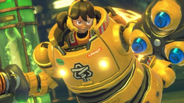Arms | Novo vídeo de gameplay apresenta cinco personagens do jogo