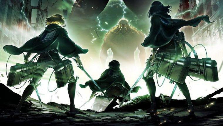 Attack on Titan lidera a lista de animes mais aguardados pelos fãs japoneses