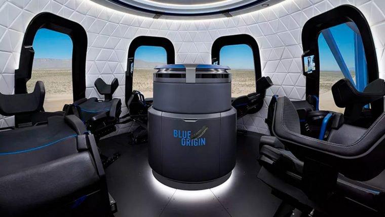 Blue Origin revela primeiras imagens da capsula que pode levar você para o espaço