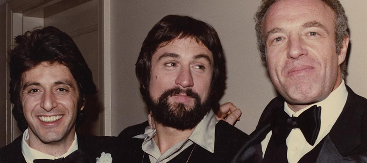 Al Pacino, De Niro e Coppola vão se encontrar para exibição de O Poderoso Chefão