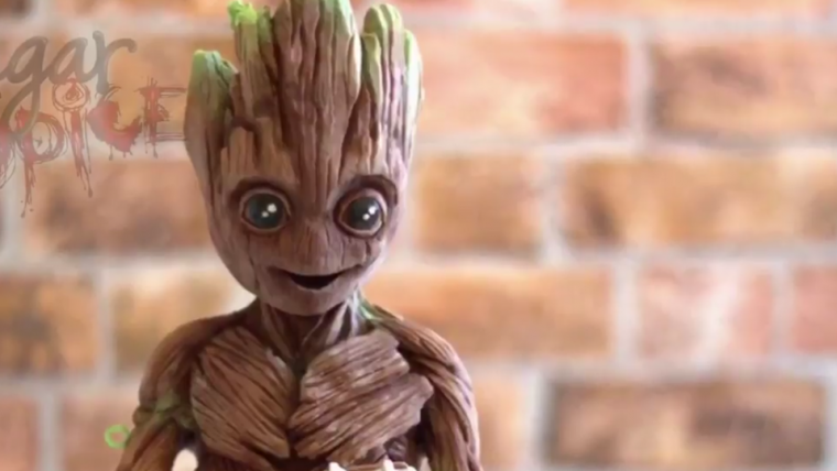 Esqueça os ovos de páscoa, o que nós queremos mesmo é esse Groot de Chocolate