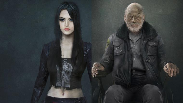 Logan | Artes conceituais mostram X-23 mais velha e Caliban com um visual estranho