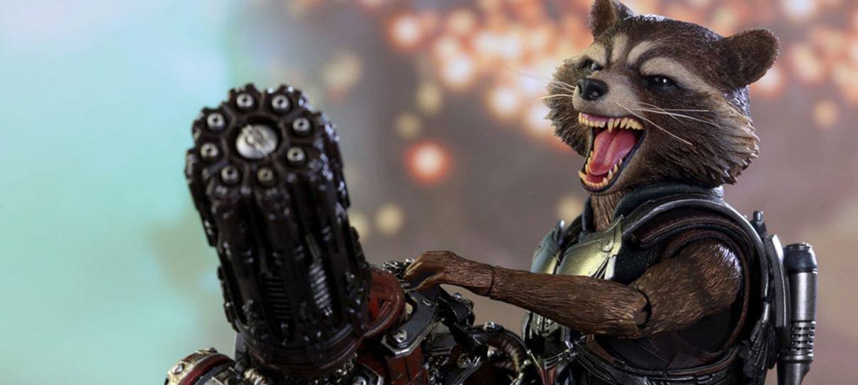 Guardiões da Galáxia Vol. 2   Figure do Rocket está pronto para a batalha