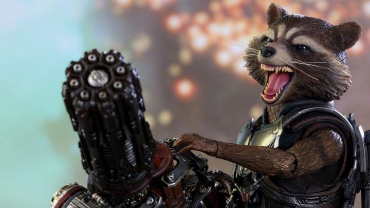 Guardiões da Galáxia Vol. 2 | Figure do Rocket está pronto para a batalha