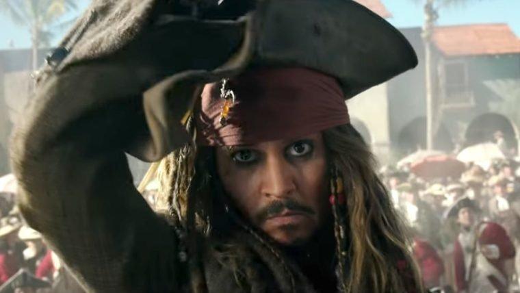 Prévia de Piratas do Caribe: A Vingança de Salazar será exibida na Disney