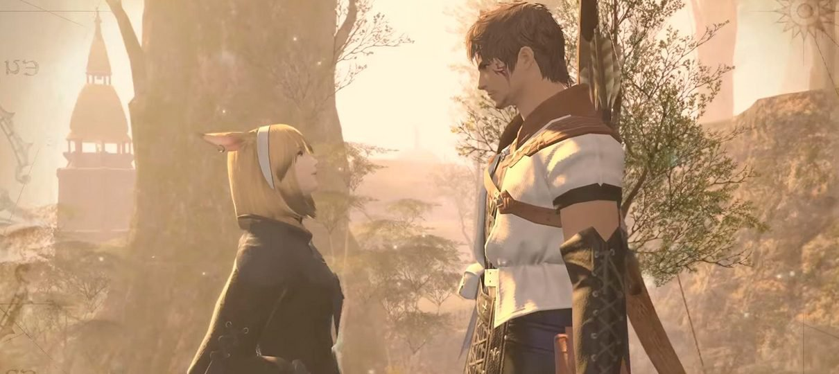 Final Fantasy XIV: Daddy of Light estreará na Netflix neste ano