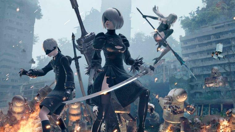 Nier: Automata   Jogo ganha data de lançamento oficial no PC
