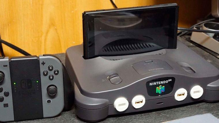 Modificaram um Nintendo 64 para servir como base para o Switch