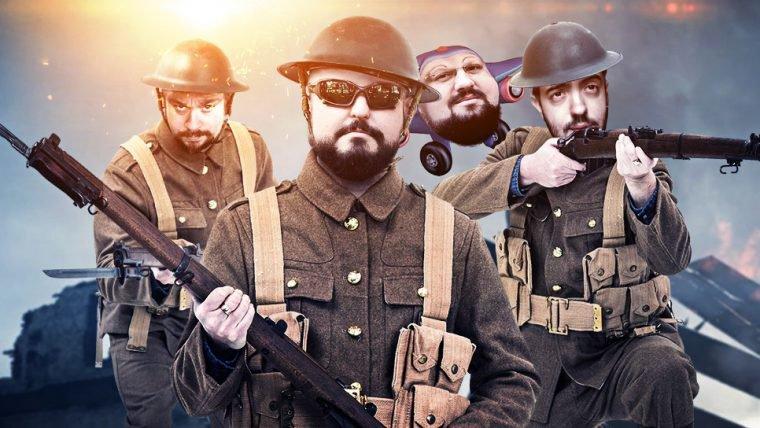 Battlefield 1 - Ataque aéreo de caminhão