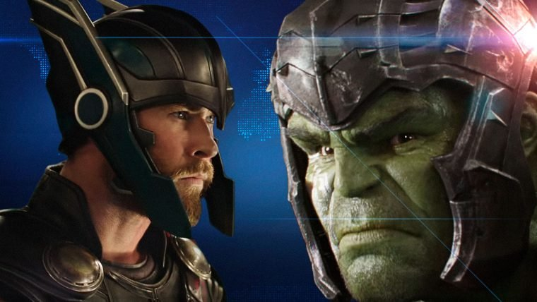 Thor e Hulk na porrada!