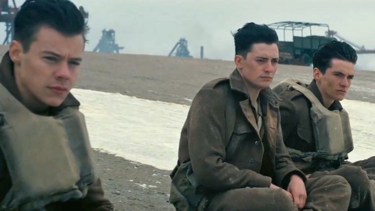 Dunkirk, o novo filme de Christopher Nolan, ganha três novos vídeos