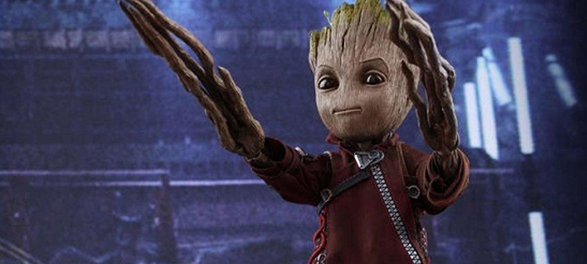 Fofura das Galáxias: Hot Toys anuncia action figure do Baby Groot